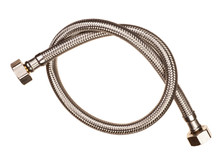 Flexible Water Hose On White Background
