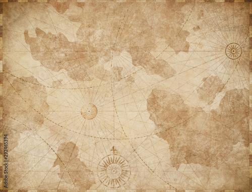 streszczenie-stara-mapa-morski