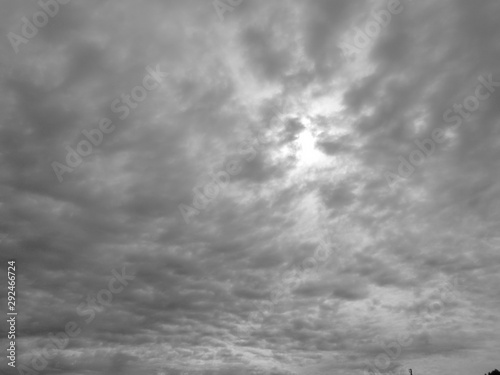 Fotomural  黒雲