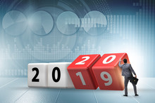 Concept Of Changing Year From ...