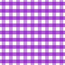 Violet Checkered Seamless Patt...