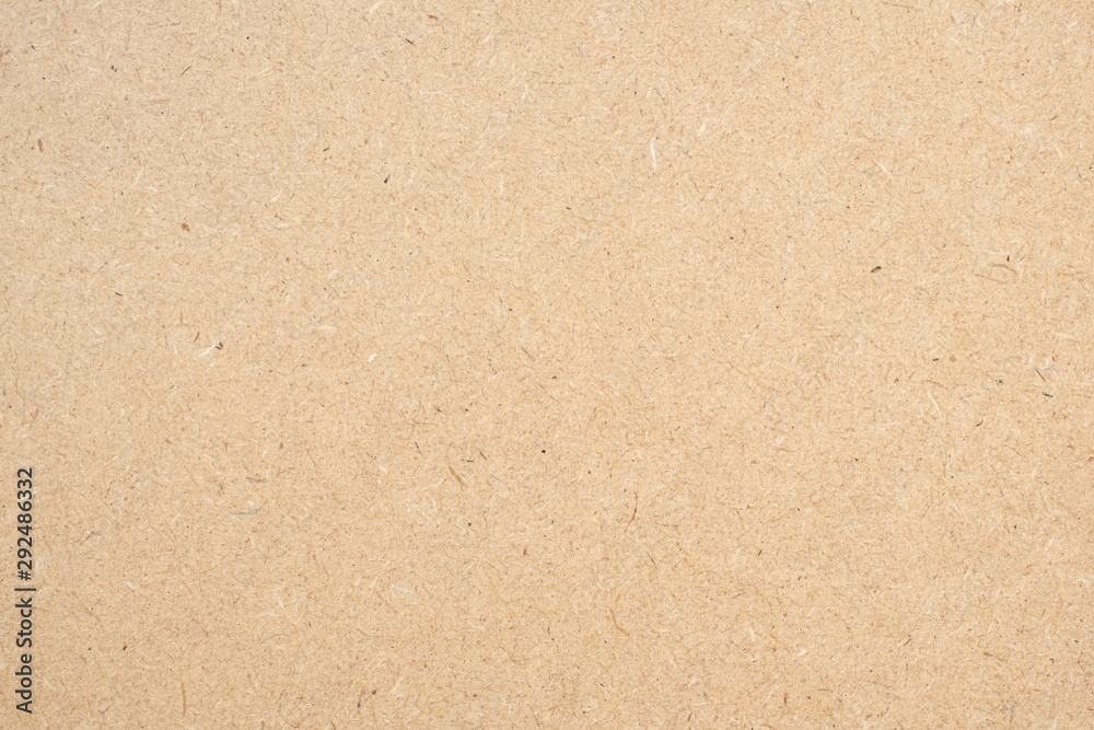 Fototapeta Brown paper texture background or cardboard surface from a paper box for packing. and for the designs decoration and nature background concept