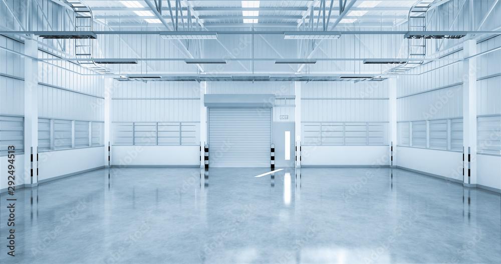 Fototapeta industrial building background