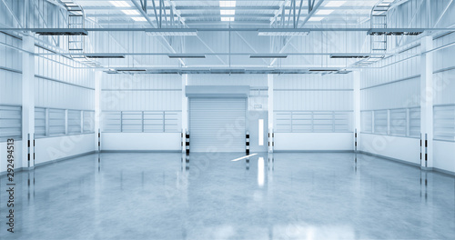 Fotografie, Obraz  industrial building background