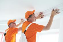 Installing Decorative Ceiling ...