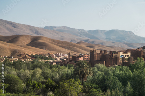 Ouarzazate is a city south of Morocco's High Atlas mountains, known as a gateway to the Sahara Desert