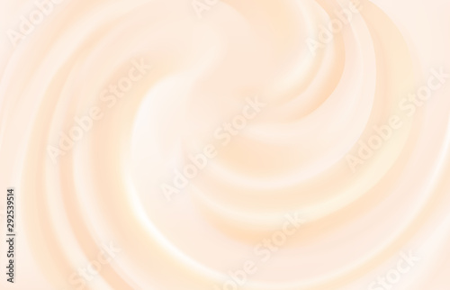 Canvas Print Vector background of swirling pink texture