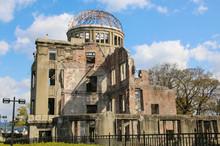 Atomic Bomb Dome Or A-bomb Dome (Genbaku Dome-mae) ,Hiroshima, Japan