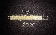 2020 New Year Concept Loading ...