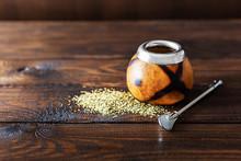 Dried Mate Tea Leaves, High In...