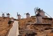 Don Quixote's Windmills in La Mancha, Spain