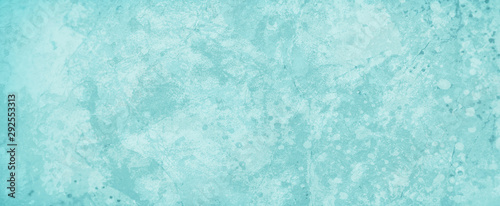 Obrazy turkusowe  grungy-old-blue-green-background-with-layered-marbled-vintage-grunge-rock-stone-and-peeling