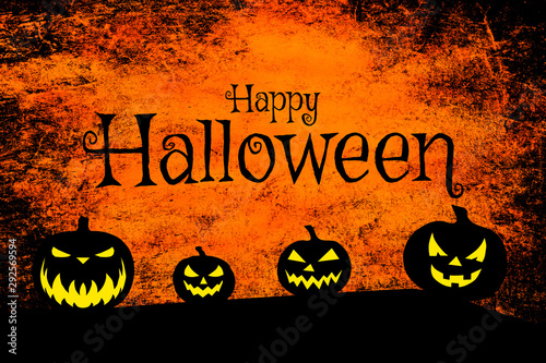 Spoed Fotobehang Halloween Halloween grunge background