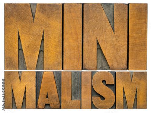 Tapety Minimalistyczne  minimalizm-slowo-abstrakcyjne-w-typie-drewna
