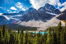 "The Glacier ""Crowfoot"" Near Lake Bow"