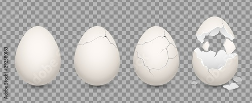 Foto Cracked egg