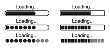 Set Loading Bar Icons – Stoc...
