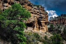 Gilla Cliff Dwellings Is A National Monument