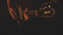Selective Shot Of A Musician P...