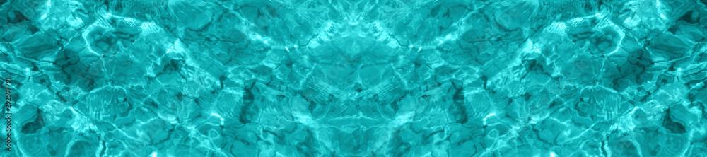 Fototapeta Background water surface.