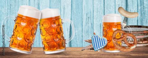Fototapeta Oktoberfest Bier obraz