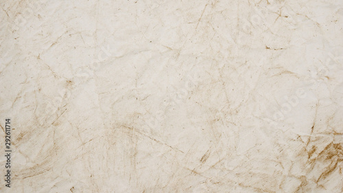 Stickers pour portes Marbre rough beige paper grunge background texture for design