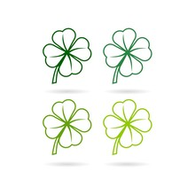 Four Leaf Clover Icon. Simple ...