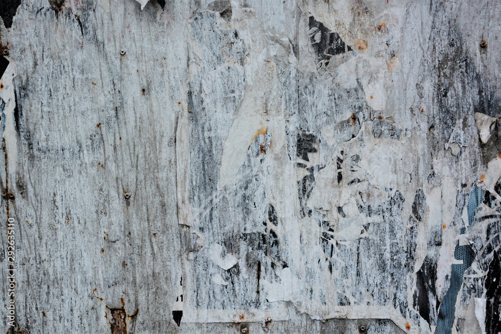 Fototapety, obrazy: Abstract torn posters