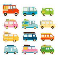 Collection Of Cars For Travel ...