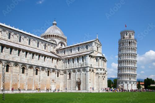 Leaning tower of Pisa Fototapeta