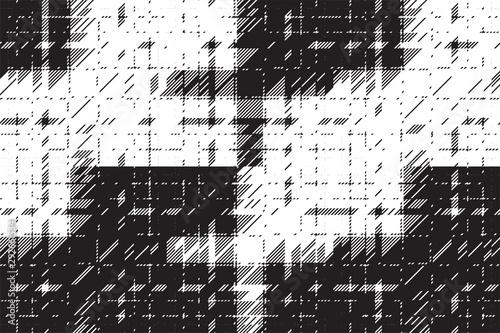 Fotografie, Tablou  Modern glitch background