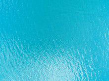 Aerial View Of A Crystal Clear...