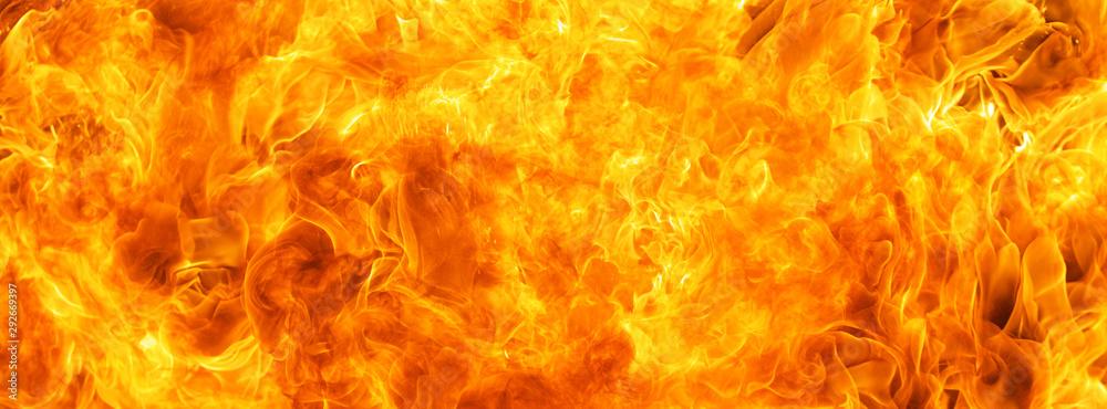Fototapety, obrazy: abstract blaze fire flame texture for banner background