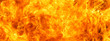 Leinwandbild Motiv abstract blaze fire flame texture for banner background