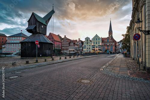 Valokuva  Der Stintmarkt in Lüneburg