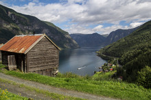 Ancient Otterness Farm On Norway