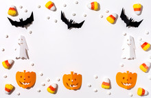 Halloween Theme With Paper Cra...