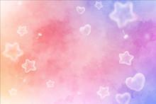 Liebe, Träume Und Wünsche In Pastell - Version 2