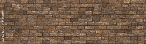 Clinker brick- seamless nature pattern - 292692187