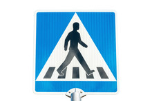 Pedestrian Crossing Road Sign ...