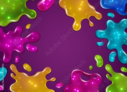 Fotografía Color slime background