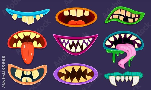 Платно Monster mouth