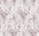 Rococo texture pattern Vector. Floral ornament decoration. Victorian engraved retro design. Vintage grunge fabric decors. Luxury fabrics
