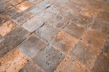 Floor In Ancient Building