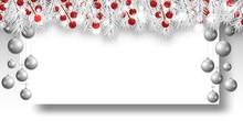 Christmas Elegant Light Backgr...