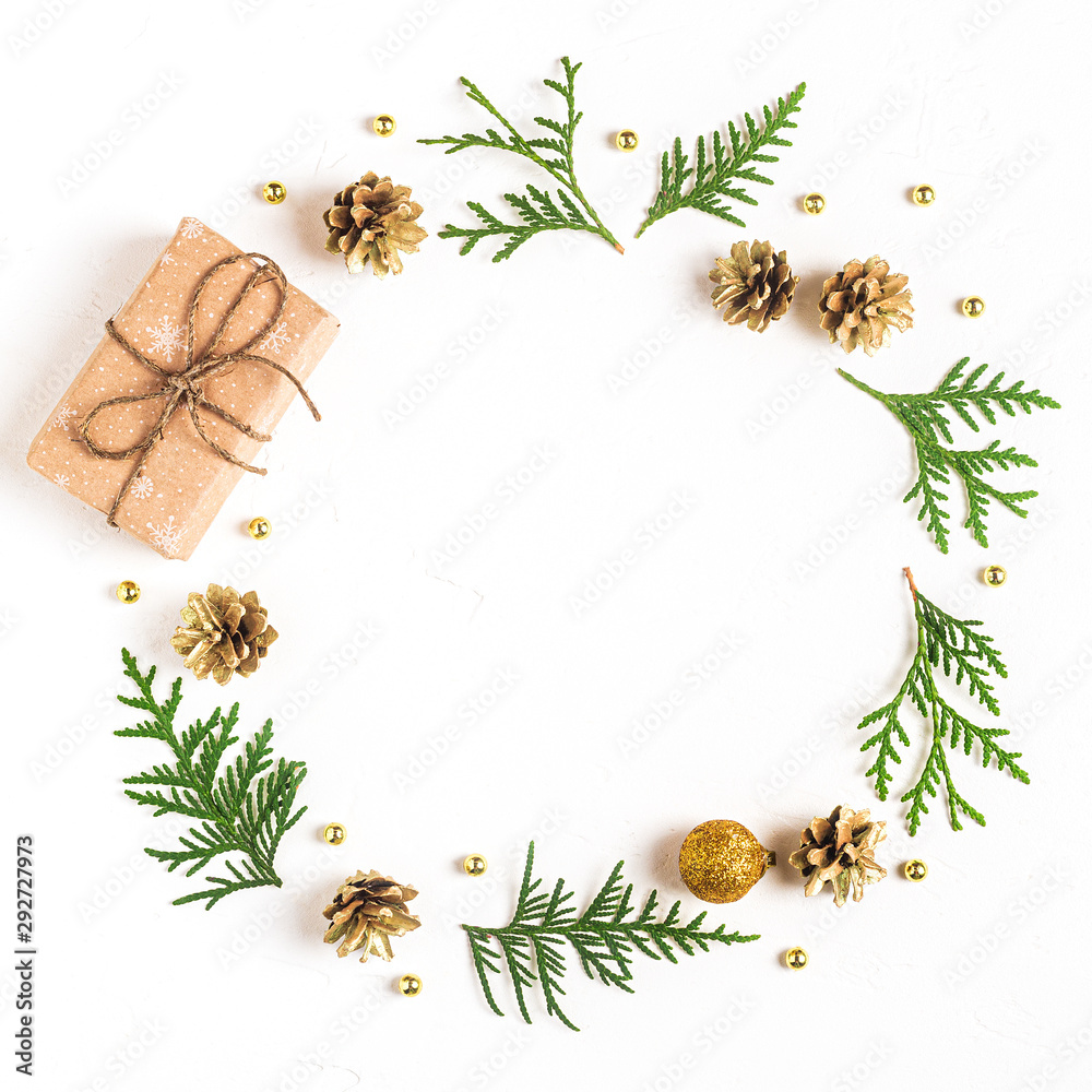 Fototapeta Christmas composition.