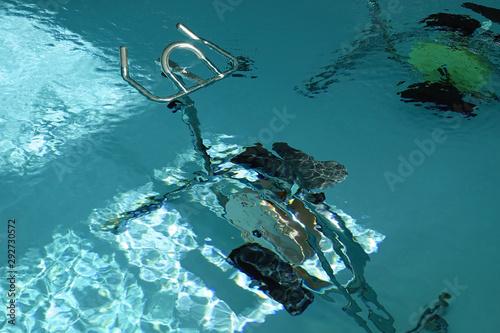 Des vélos immergés pour pratiquer l'aquabiking Tapéta, Fotótapéta