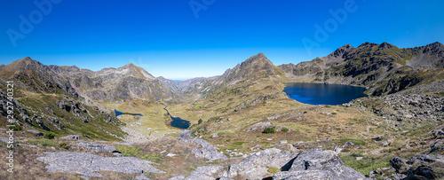 Photo Panoramic view to the Blue Lake