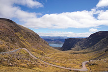 The Bealach Na Ba Mountain Pass Near Applecross In Scotland