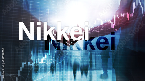The Nikkei 225 Stock Average Index Canvas Print